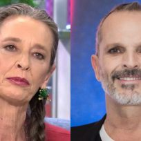 Miguel Bosé y Paola Dominguin