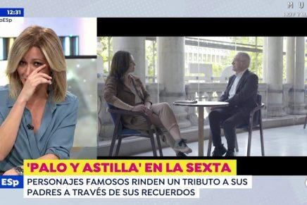 Susanna Griso rompe a llorar tras la visita de Mamen Mendizábal