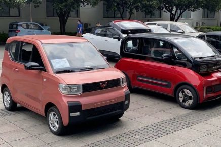 Hongguang Mini EV, el coche eléctrico más barato de China