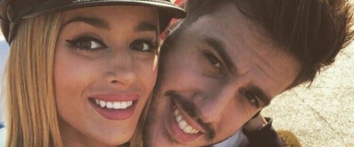 Antonio José junto a su chica