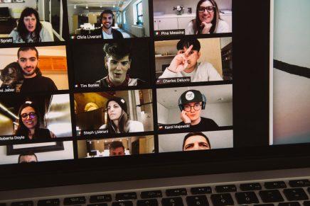 Videollamada en tiempos de teletrabajo