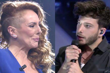 Rocío Carrasco y Blas Cantó en televisión