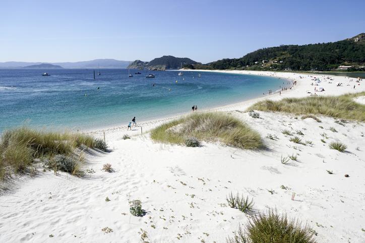 Rodas beach in Cies Islands