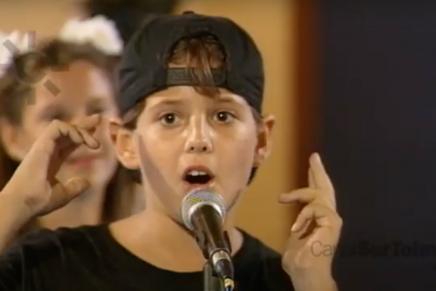 Pablo López de pequeño en Veo Veo Canal Sur