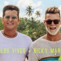Ricky Martin y Carlos Vives