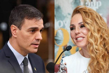 Rocio Carrasco y Pedro Sánchez