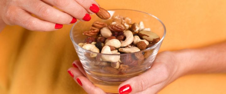 frutos secos, comida saludable