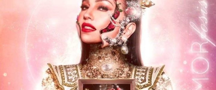 Thalia en la portada de su nuevo disco