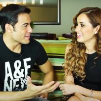 Carlos Rivera y Cynthia Rodríguez