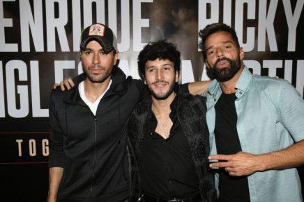 Enrique Iglesias, Ricky Martin y Sebastián Yatra