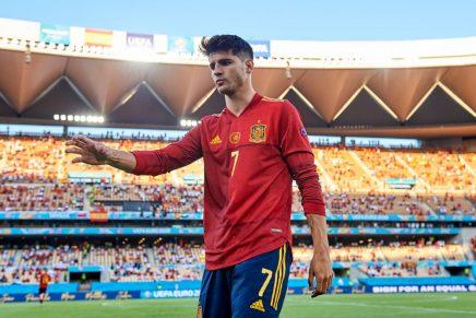 Álvaro Morata, jugador de la selección española en la Euro 2020