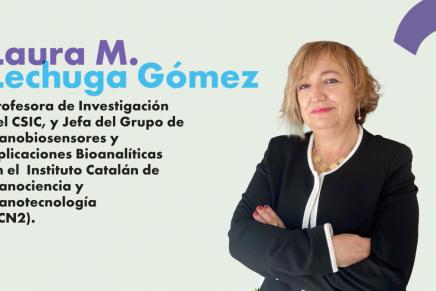 Laura Lechuga Mujeres Ciencia