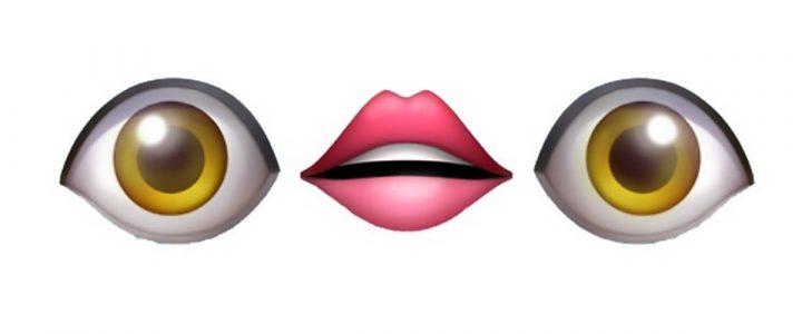 boca y ojos emoji que usan tus hijos
