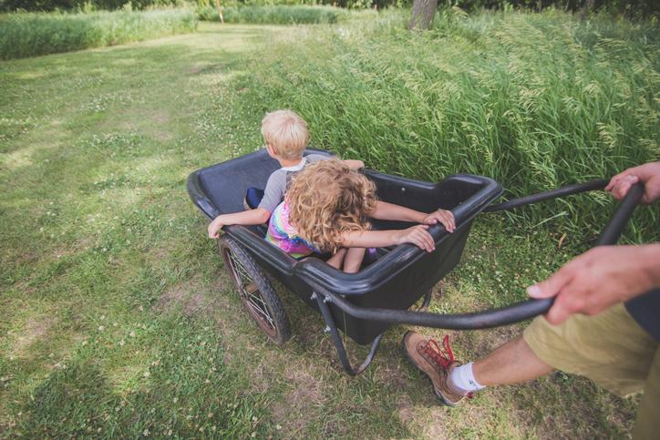 carrito niños camping o playa