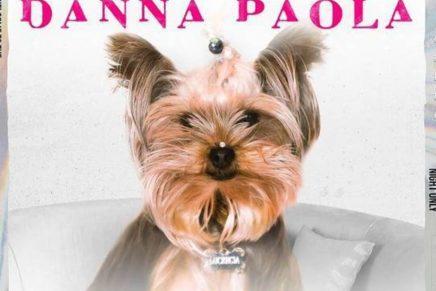 La mascota de Danna Paola en la portada de su nuevo sencillo