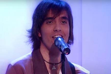 Joaquín Padilla musico de la ruleta de la suerte