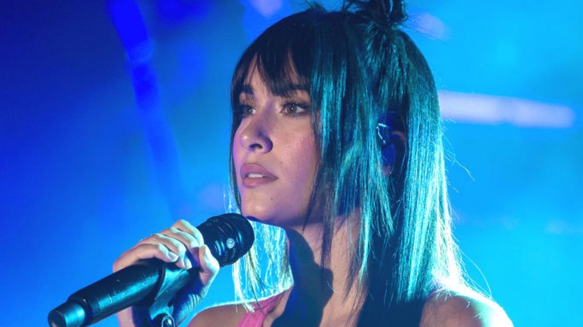 Aitana en concierto
