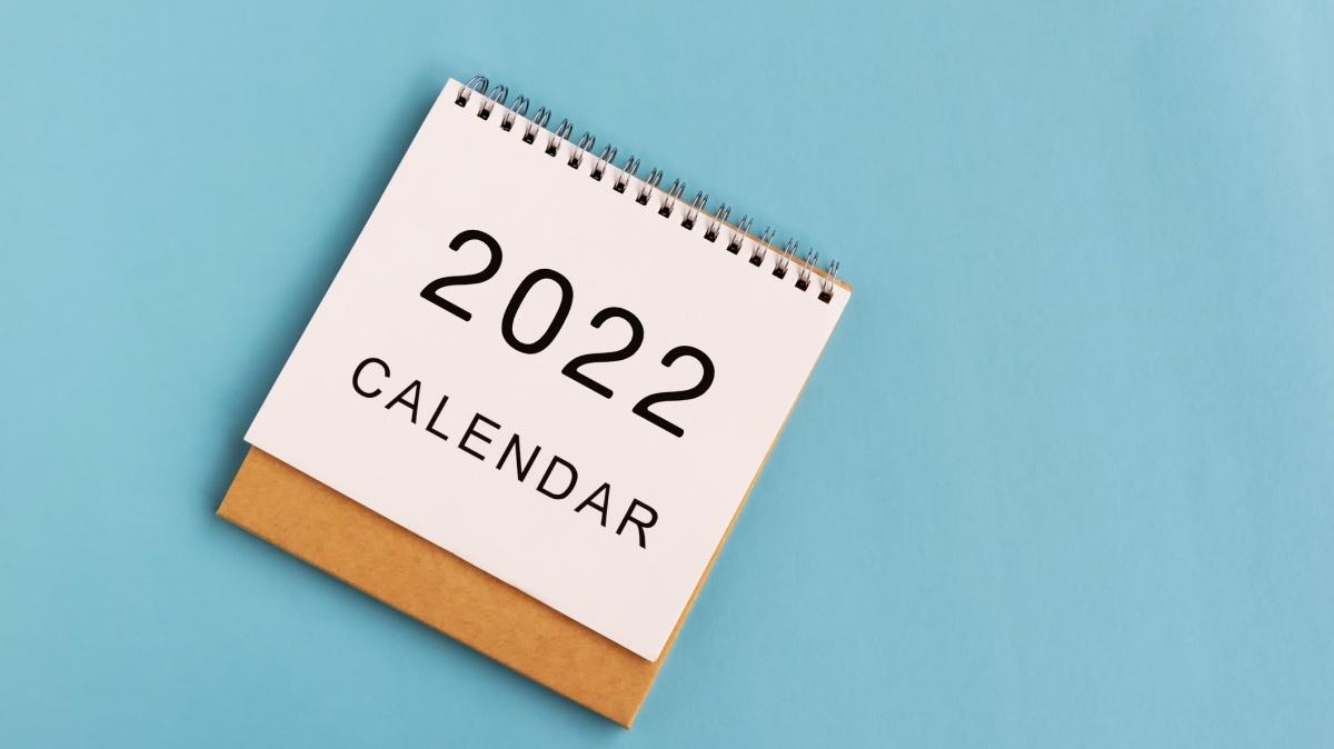 calendario festivo 2022