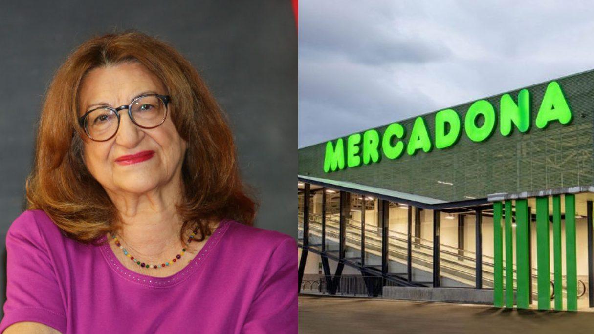 Mamen García, la voz de Mercadona