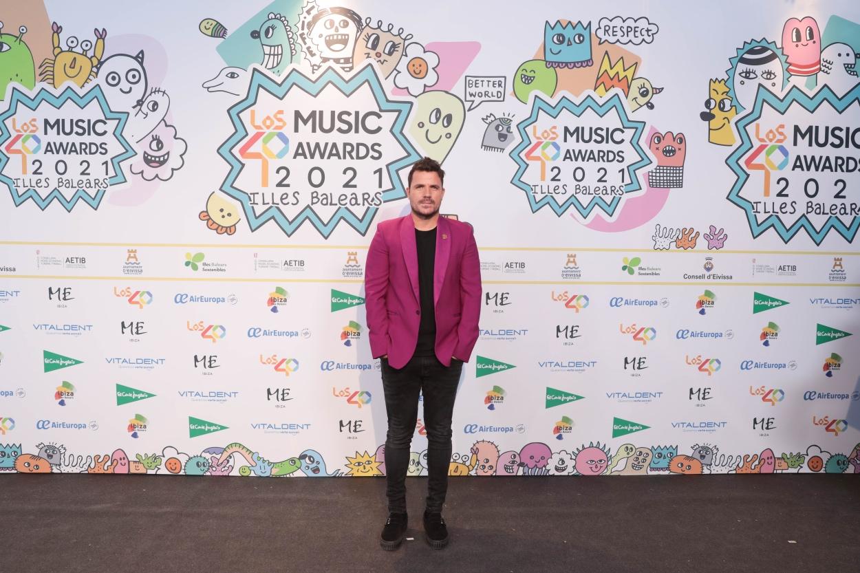 Dani Martín en la cena de nominados de LOS40 Music Awards