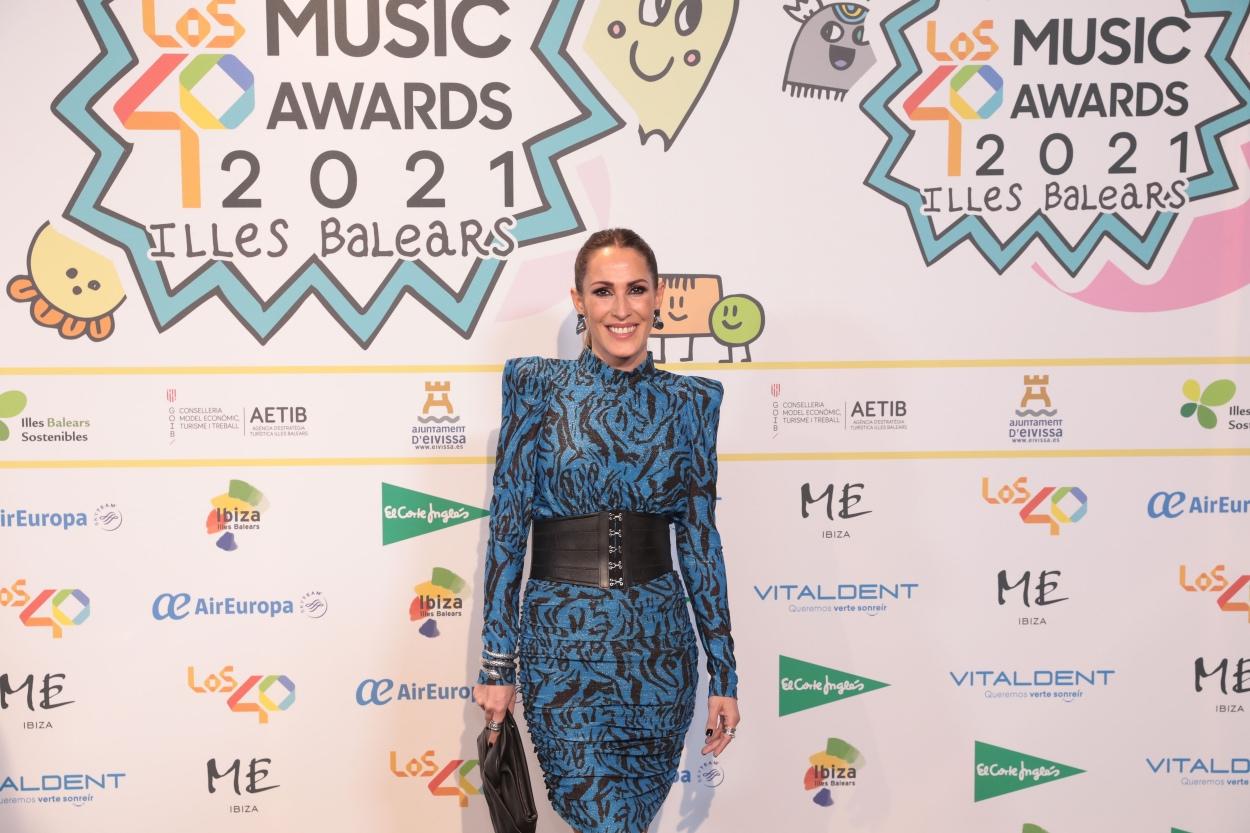 Malú en la cena de nominados de LOS40 Music Awards