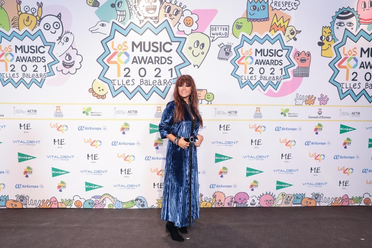 Vanesa Martín en la cena de nominados de LOS40 Music Awards