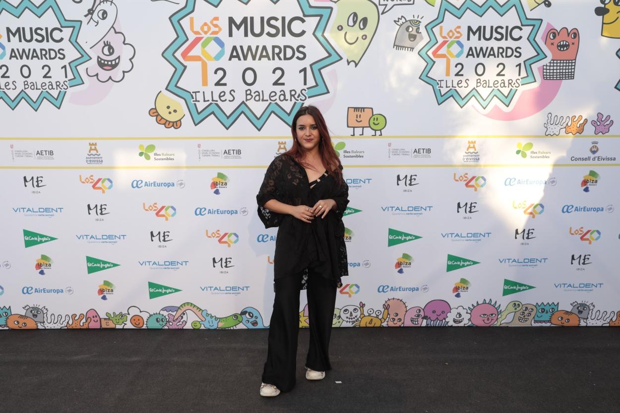 Marta Soto en la cena de nominados de LOS40 Music Awards