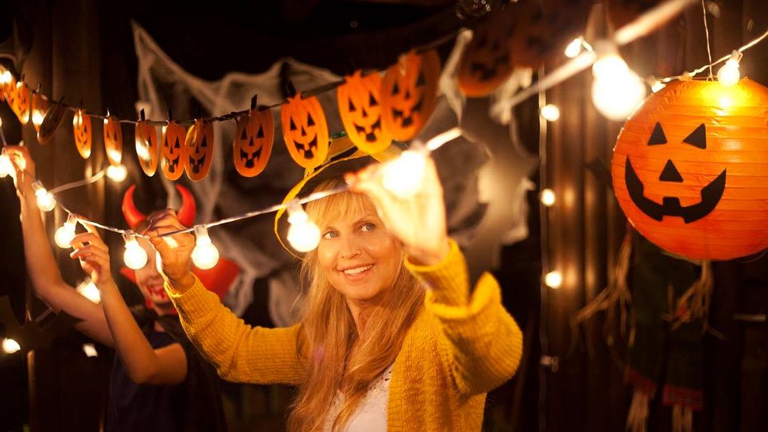 decorar tu casa en Halloween