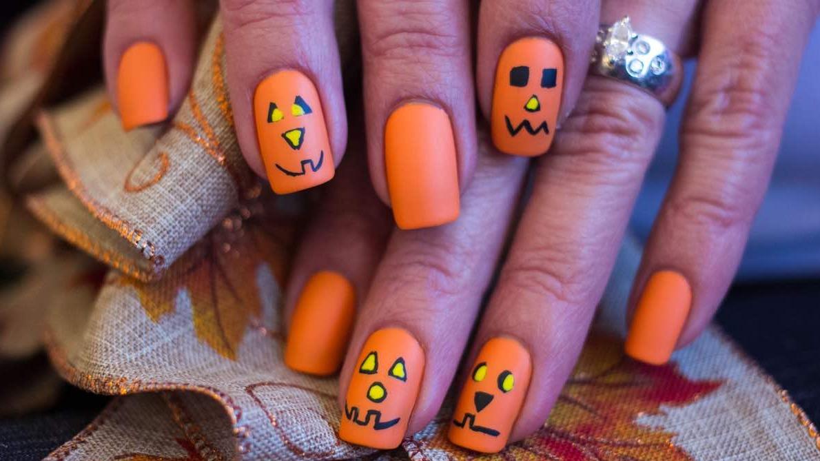 manicuras para Halloween