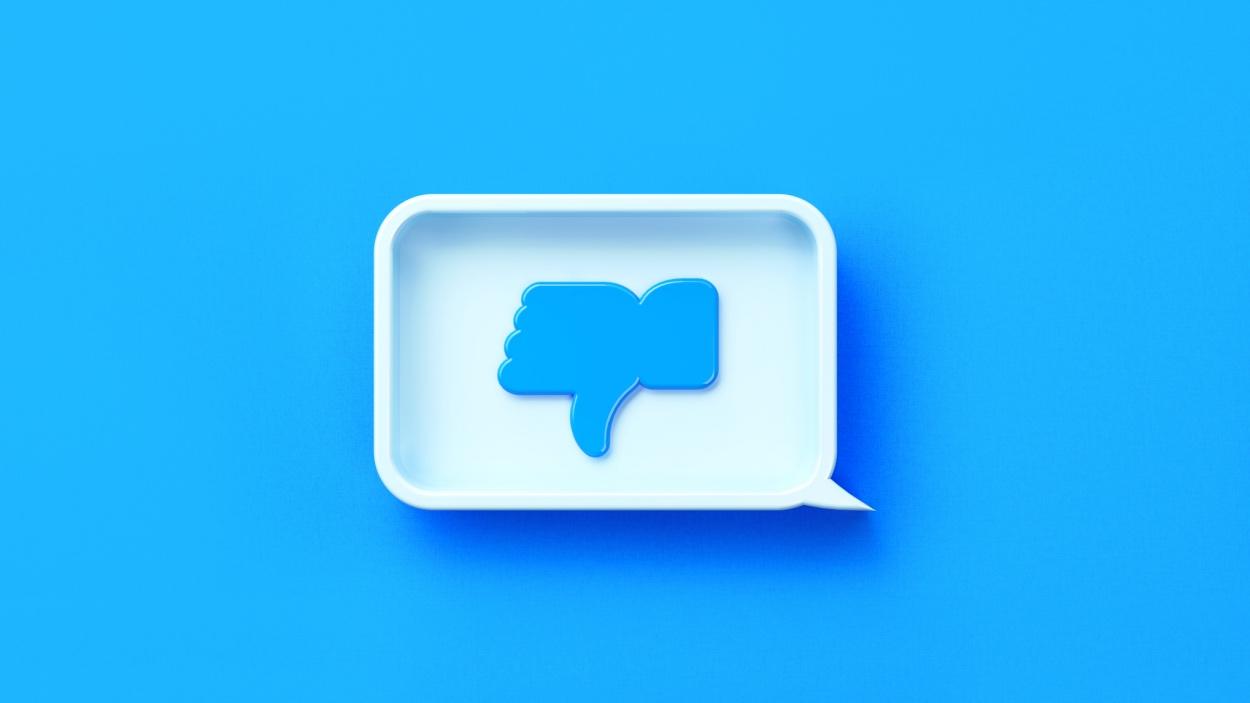 Twitter botón de 'no me gusta'